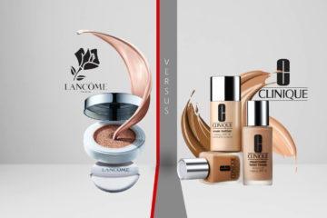 Lancôme vs. Clinique Foundation